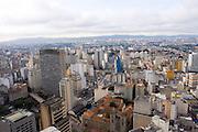 Sao Paulo_SP, Brasil...Imagem aerea da regiao central de Sao Paulo...The aerial view of the central region in Sao Paulo...Foto: MARCUS DESIMONI / NITRO