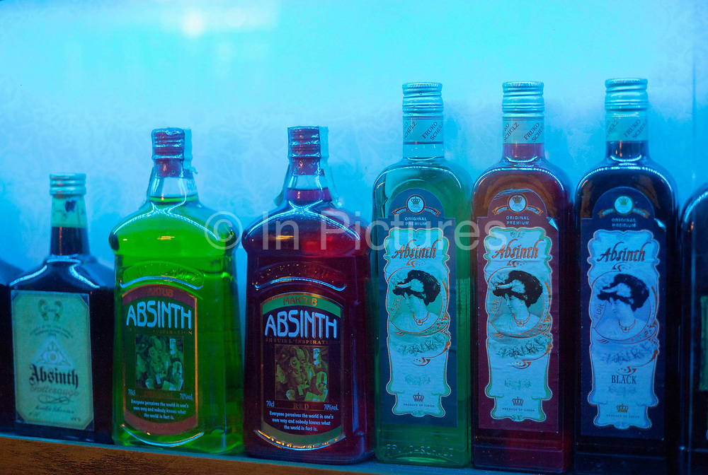 Absinthe museum; Prague, Czech Republic.
