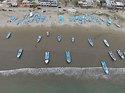 Fishing Fleet<br /> Puerto Lopez<br /> Manabi Province<br /> Ecuador<br /> South America