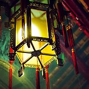 Traditional lantern, Hong Kong, China (January 2006)