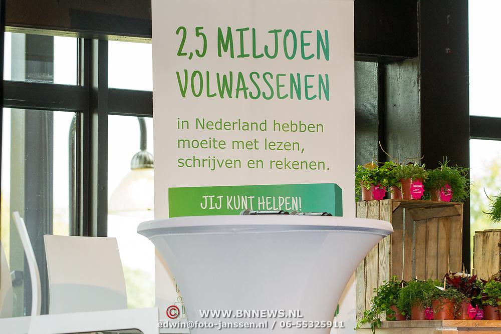 NLD/Zoetermeer/20170904 -  Opening week Alfabetiseringsweek,