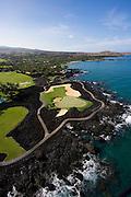 Aerial, Hualalai Resort, Kona Coast, Island of Hawaii