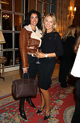 Left to right, ANTONIA FRERING and RENEE TAUBI at a ladies lunch in aid of the NSPCC held at The Ritz, Piccadilly, London on 7th March 2006.<br />