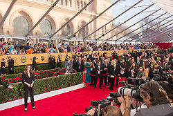 Jan 25, 2015 - Los Angeles, California, U.S. - Actress JULIA ROBERTS on the red carpet during arrivals for the 21st Screen Actors Guild Awards held at the Shrine Auditorium. (Credit Image: © Leonard Ortiz/ZUMA Wire/ZUMApress.com)
