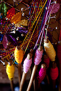 Fortaleza_CE, Brasil...Complexo artesanal de Aquiraz. Rendas e rendeiras, utilizando a tecnica dos 30 pares de birros, para tecear a tradicional Renda de Bilros em Fortaleza, Ceara...the Craft Center Rendeiras of Aquiraz has the wonderful work of womens lace Aquiraz in the form of bobbin lace, embroidery, crochet, cross stitch richilieu in Fortaleza, Ceara...Foto: BRUNO MAGALHAES / NITRO