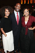New York, NY-October 5: (L-R) Television Producer Mara Brock Akil, On-Air Personality Van Jones, Co-founder, Color of Change and Director Ava DuVenay (Honoree) attends the ColorOfChange.org's 10th Anniversary Gala held at Gotham Hall on October 5, 2015 in New York City.  Terrence Jennings/terrencejennings.com