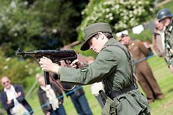 Stanhope War on the line Weardale Railway Co Durham..14 July 2012.Image © Paul David Drabble