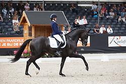 Van der Putten Marieke, (NED), El Capone<br /> Selectie 6 jarige WK paarden<br /> Dutch Championship Dressage - Ermelo 2015<br /> © Hippo Foto - Dirk Caremans<br /> 18/07/15