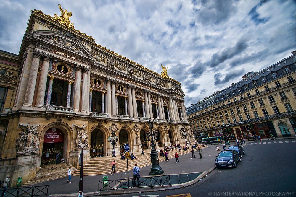 Le Palais Garnier (Opera House Exterior)