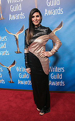 February 17, 2019 - Beverly Hills, California, U.S - Jamie-Lynn Sigler on the red carpet of the 2019 Writers Guild Awards at the Beverly Hilton Hotel on Sunday February 17, 2019 in Beverly Hills, California. JAVIER ROJAS/PI (Credit Image: © Prensa Internacional via ZUMA Wire)