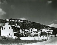 1925 Hollywoodland sign