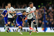 Kyle Walker of Tottenham Hotspur in action. Barclays Premier league match, Chelsea v Tottenham Hotspur at Stamford Bridge in London on Monday 2nd May 2016.<br /> pic by Andrew Orchard, Andrew Orchard sports photography.