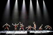 The company of Bale De Rua in Baila Brazil at the Royal Festival Hall, London, UK 06 Aug 2015. They are part of the Southbank Centres Festival of Love.