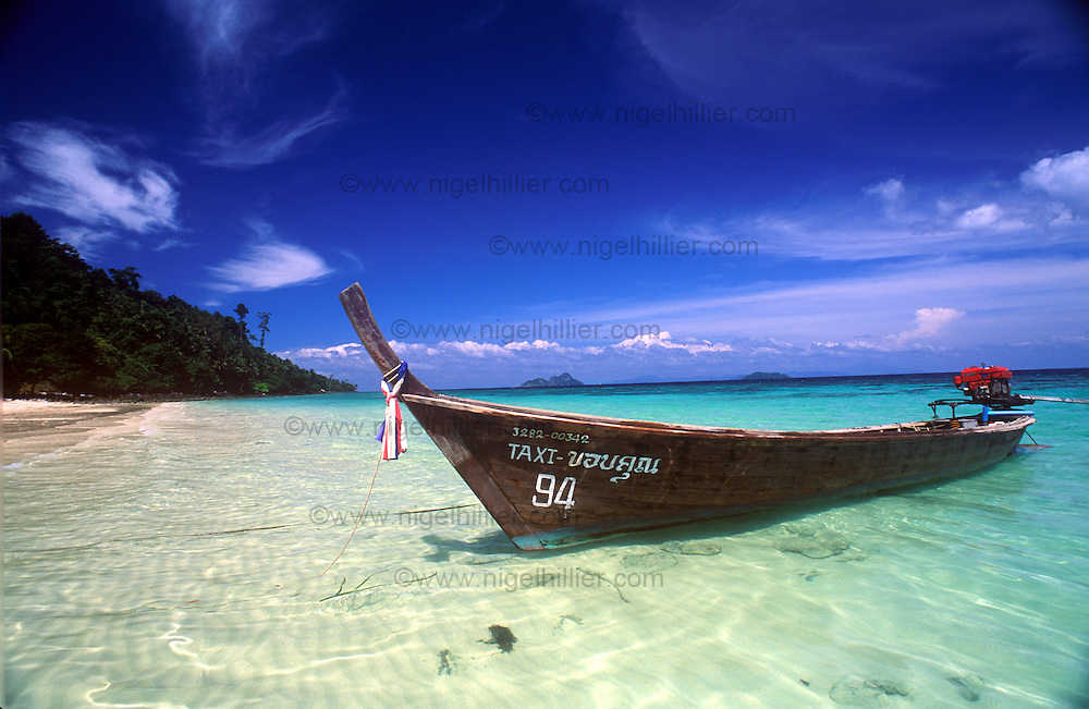 taxi boat, Koh Phi Phi, Thailand