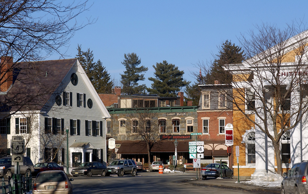 A view of the main street area in Woodstock, VT.<br /> JUSTIN LANE FOR THE NEW YORK TIMES