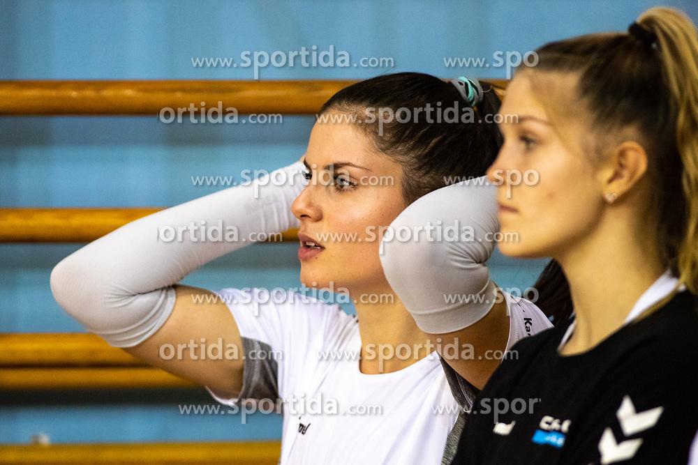 Ana Marija Vovk of Calcit Volley during volleyball match between Calcit Volley Kamnik vs LKS Commercecon Lodz in 2nd Round of CEV Champions League 2020/21, on October 14, 2020 in Sportna dvorana, Kamnik, Slovenia. Photo by Matic Klansek Velej / Sportida