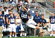 STATE COLLEGE, PA - SEPTEMBER 3:  Mike Gesicki #88 of the Penn State Nittany Lions can't make a catch in front of Darryl Marshall #30 of the Kent State Golden Flashes during the first quarter at Beaver Stadium on September 3, 2016 in State College, Pennsylvania.  (Photo by Joe Sargent/Getty Images) *** Local Caption ***