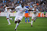 FOOTBALL - FRENCH LEAGUE CUP 2010/2011 - FINAL - OLYMPIQUE MARSEILLE v MONTPELLIER HSC - 23/04/2014 - PHOTO GUY JEFFROY / DPPI - JOY ISMAILA TAIWO (OM)