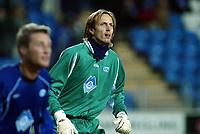 Fotball, 15. oktober 2003, UEFA - cupen, 1 runde, Molde Stadion, Molde-Leiria,  Knut Dørum Lillebakk, Molde