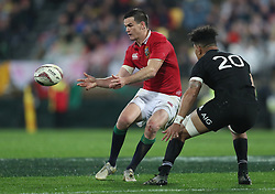 British and Irish Lions Jonny Sexton during the second test of the 2017 British and Irish Lions tour at Westpac Stadium, Wellington.