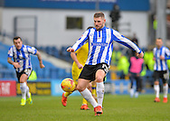 Sheffield Wednesday Forward Gary Hooper during the Sky Bet Championship match between Sheffield Wednesday and Leeds United at Hillsborough, Sheffield, England on 16 January 2016. Photo by Adam Rivers.