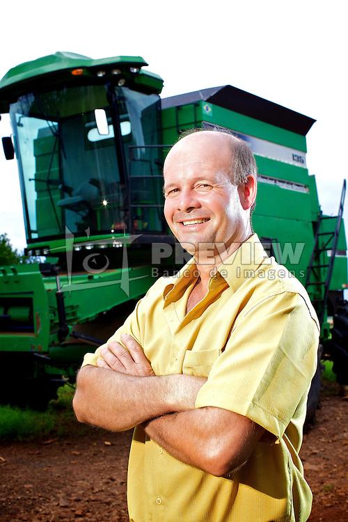 Júlio Adam, da Arquiflex Implementos Agrícolas Ltda, em Ibirubá. FOTO: Jefferson Bernardes/Preview.com