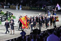 Openingceremony: Team Spain<br /> World Equestrian Games Lexington - Kentucky 2010<br /> © Dirk Caremans