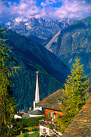 Overlooking the Swiss Alps from Verbier, Switzerland