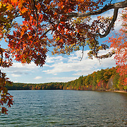 Walden Pond in Concord, Massachusetts is a State Reservation. The site was made famous by Hentry David Thoreau in the early 19th century.