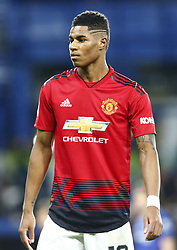 February 18, 2019 - London, United Kingdom - Manchester United's Marcus Rashford.during FA Cup Fifth Round between Chelsea and Manchester United at Stanford Bridge stadium , London, England on 18 Feb 2019. (Credit Image: © Action Foto Sport/NurPhoto via ZUMA Press)