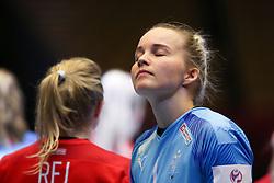 Sandra Toft. EHF Euro 2020 Group A match between France and Denmark in Jyske Bank Boxen, Herning, Denmark on December 8, 2020. Photo Credit: Allan Jensen/EVENTMEDIA.