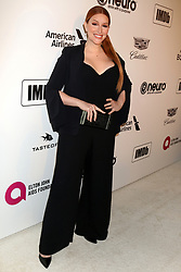February 24, 2019 - West Hollywood, CA, USA - LOS ANGELES - FEB 24:  Our Lady J at the Elton John Oscar Viewing Party on the West Hollywood Park on February 24, 2019 in West Hollywood, CA (Credit Image: © Kay Blake/ZUMA Wire)