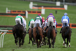 Penhill ridden by jockey Pete Townend (right) on the way to winning the Albert Bartlett Novices' Hurdle during Gold Cup Day of the 2017 Cheltenham Festival at Cheltenham Racecourse.