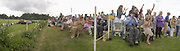 Watching polo, Amongst crowd, Mark Vestey ( in wheelchair) Veuve Clicquot Gold Cup, Polo, Semi -final day. Cowdray. 18 July 2002. © Copyright Photograph by Dafydd Jones 66 Stockwell Park Rd. London SW9 0DA Tel 020 7733 0108 www.dafjones.com