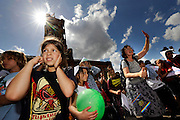 BERLIN, GERMANY - 26/06/2008 - TRAVEL, Hundreds of children protest at the Rathause (townhall) to increase funds for schools..cfr. Berlin, Germany, capital, ..©Christophe VANDER EECKEN