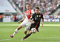 Fotball<br /> Tyskland<br /> 27.09.2014<br /> Foto: Witters/Digitalsport<br /> NORWAY ONLY<br /> <br /> v.l. Pawel Olkowski (Koeln), Juan Bernat<br /> Fussball Bundesliga, 1. FC Köln - FC Bayern München