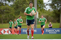 3 July 2013; Mike Phillips, British & Irish Lions, during squad training ahead of their 3rd test match against Australia on Saturday. British & Irish Lions Tour 2013, Squad Training. Noosa Dolphins RFC, Dolphin Oval, Sunshine Beach, Queensland, Australia. Picture credit: Stephen McCarthy / SPORTSFILE