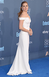 The 22nd Annual Critics' Choice Awards - Arrivals. 13 Dec 2016 Pictured: Amy Adams. Photo credit: TRF/ MEGA TheMegaAgency.com +1 888 505 6342