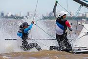 2015 49er Worlds - San Isidro, Argentine.<br />  © Matias Capizzano