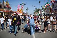 The San Diego County Fair at the Del Mar Fairgrounds.