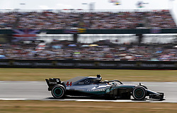 July 8, 2018 - Silverstone, Great Britain - Motorsports: FIA Formula One World Championship 2018, Grand Prix of Great Britain, .#44 Lewis Hamilton (GBR, Mercedes AMG Petronas Motorsport) (Credit Image: © Hoch Zwei via ZUMA Wire)