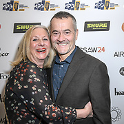 Stephen Street and wife nominee The Music Producers Guild Awards at Grosvenor House, Park Lane, on 27th February 2020, London, UK.