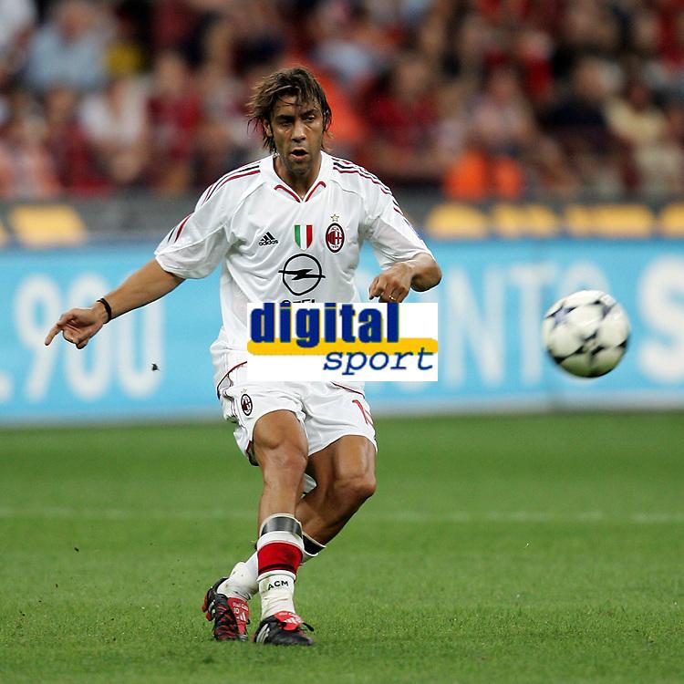 Milano 13/8/2004 Trofeo Seat. Milan - Sampdoria 2-2. Sampdoria won after penalties - Sampdoria vince ai rigori.<br /> <br /> Manuel Rui Costa Milan<br /> <br /> Foto Andrea Staccioli Graffiti