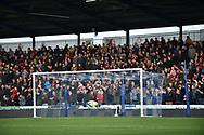 Sunderland fans during the EFL Sky Bet League 1 match between Portsmouth and Sunderland at Fratton Park, Portsmouth, England on 22 December 2018.