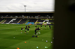 General views inside the stadium- Mandatory by-line: Nizaam Jones/JMP - 17/10/2020 - FOOTBALL - innocent New Lawn Stadium - Nailsworth, England - Forest Green Rovers v Stevenage - Sky Bet League Two