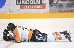 Michael Schiechl at Erste Bank Eishockey Liga (EBEL) 2008/2009 match between HK Acroni Jesenice and Eishockeyclub Graz 99ers, on January 9, 2009, in Dvorana Podmezaklja, Jesenice, Slovenia. (Photo by Vid Ponikvar / SportIda).
