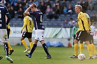 Fotball , 17. mai 2017 , Eliteserien, Viking Stavanger - Sandefjord<br />Michael Ledger fra Viking i aksjon mot Sandefjord.<br />Foto: Andrew Halseid Budd , Digitalsport