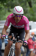 FRANCE 21st JULY 2007: T-Mobile's Kim Kirchen during stage 13 of the Tour de France cycle race. This stage was a time trial.
