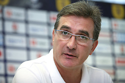 Head coach of Dinamo Zagreb Branko Ivankovic at press conference day before 1st match of 2nd Qualifying Round of UEFA Champions league between NK Domzale vs HNK Dinamo Zagreb, on July 29, 2008, in Domzale, Slovenia. (Photo by Vid Ponikvar / Sportal Images)