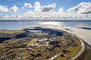 Nederland, Friesland, Schiermonnikoog, 28-02-2016;  <br /> Waddenzee vanaf het eiland Schermonnikoog, gezien naar Lauwersmeer.<br /> Island Schiermonnikoog and Wadden sea. <br /> <br /> luchtfoto (toeslag op standard tarieven);<br /> aerial photo (additional fee required);<br /> copyright foto/photo Siebe Swart